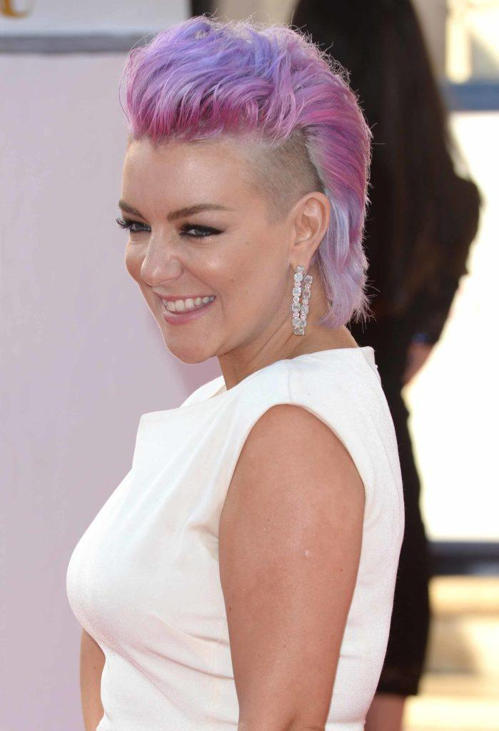 violet hair: All Things Hair - IMAGE - celebrity gallery Sheridan Smith mohawk