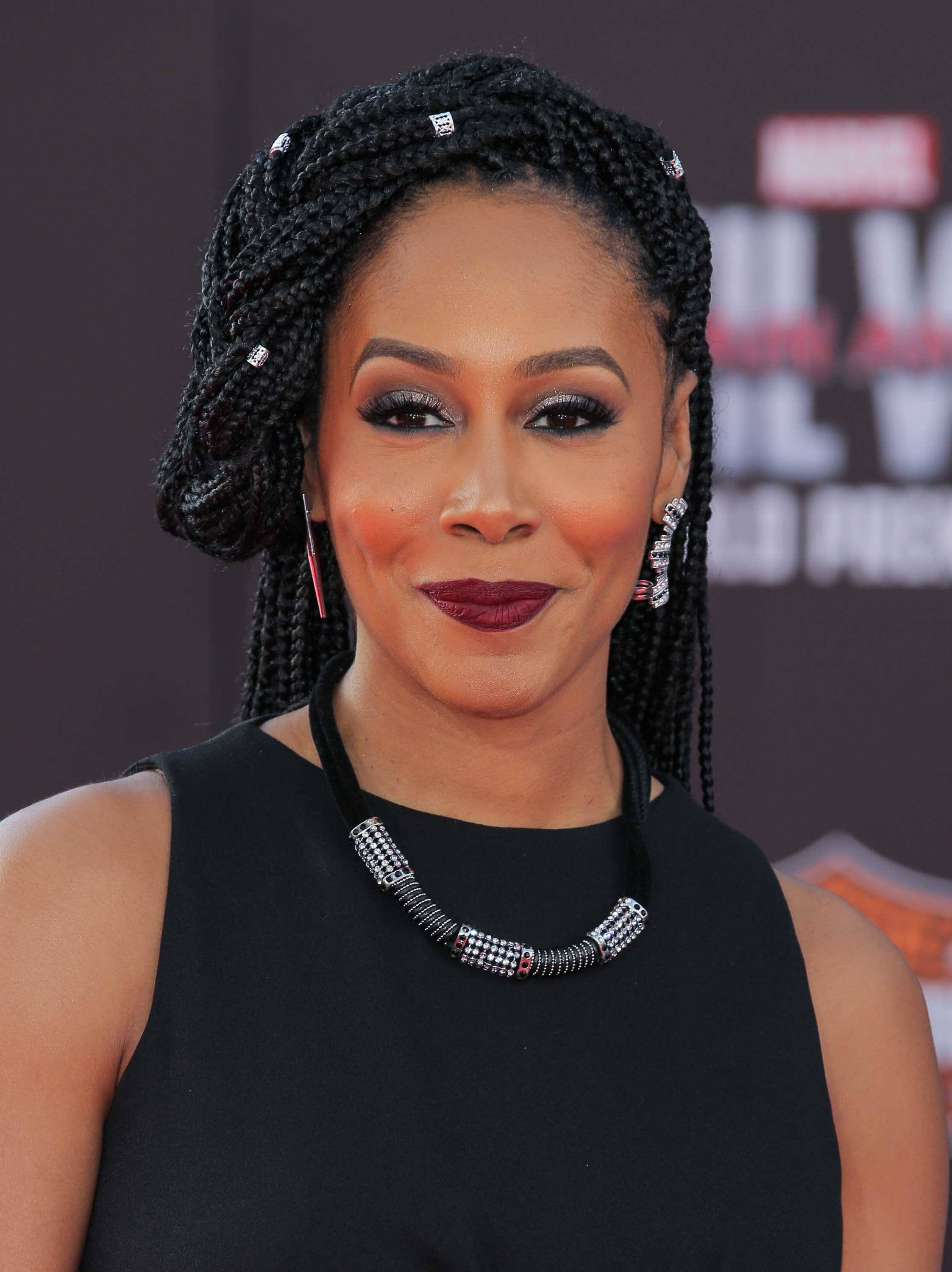 hair accessories 2016: All Things Hair - IMAGE - celebrity hairstyles Simone Cook braids cuffs