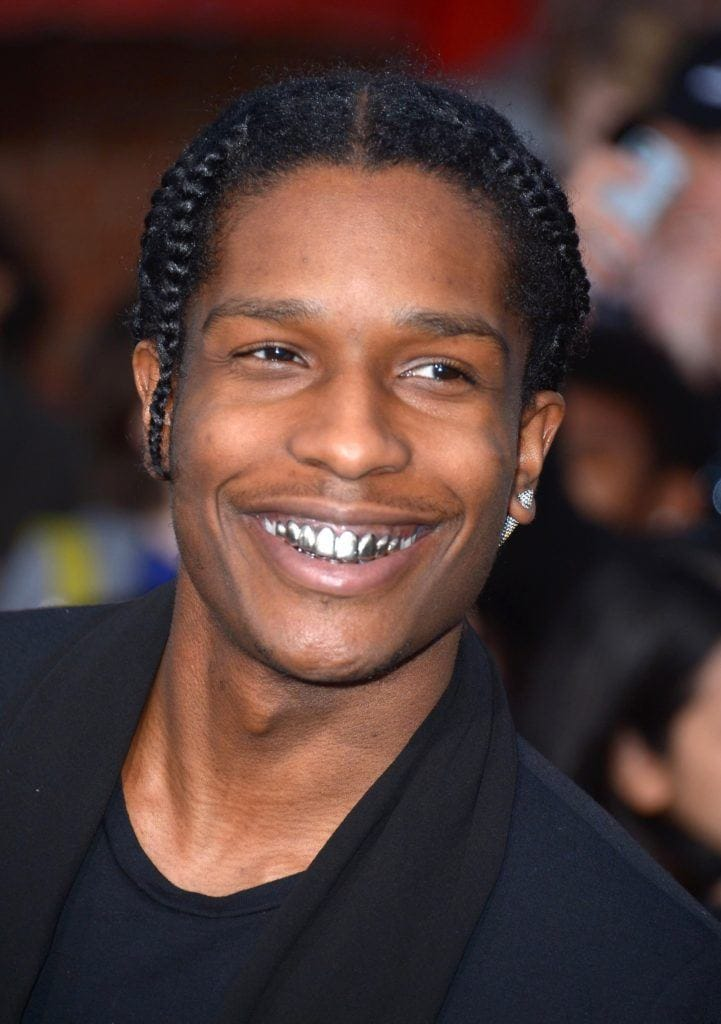 men with braids: All Things Hair - IMAGE - ASAP Rocky braids