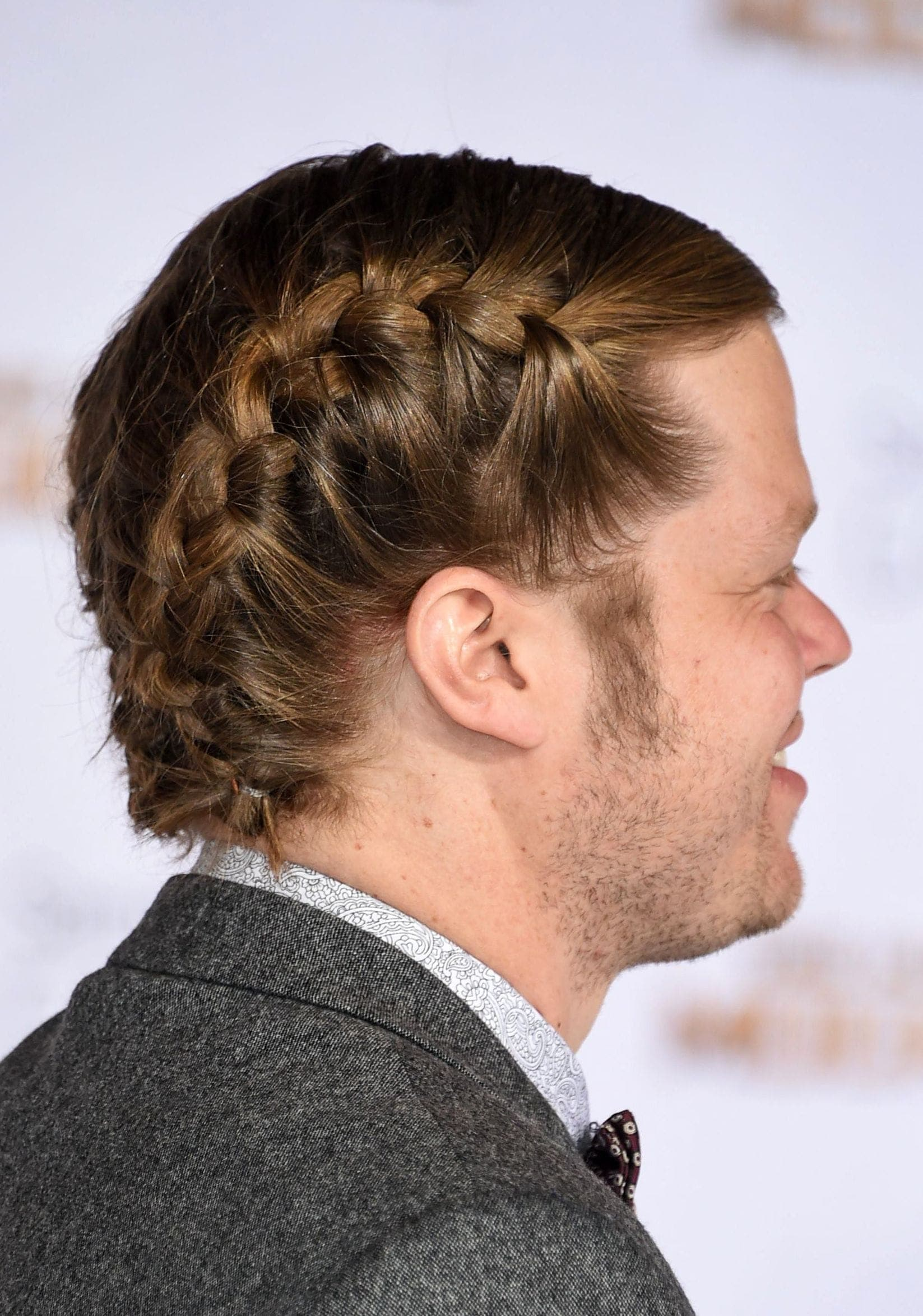 men with braids: All Things Hair - IMAGE - Elden Henson French braids