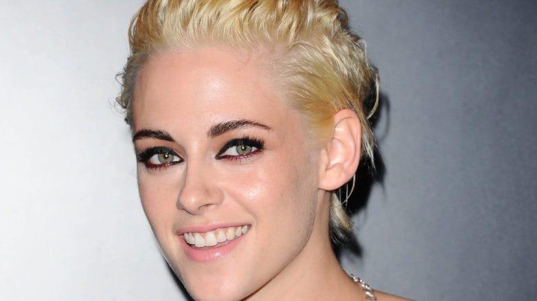 Kristen Stewart peroxide blonde hair