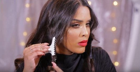 N1kk1sSecr3t hair tutorial long brown wavy hair