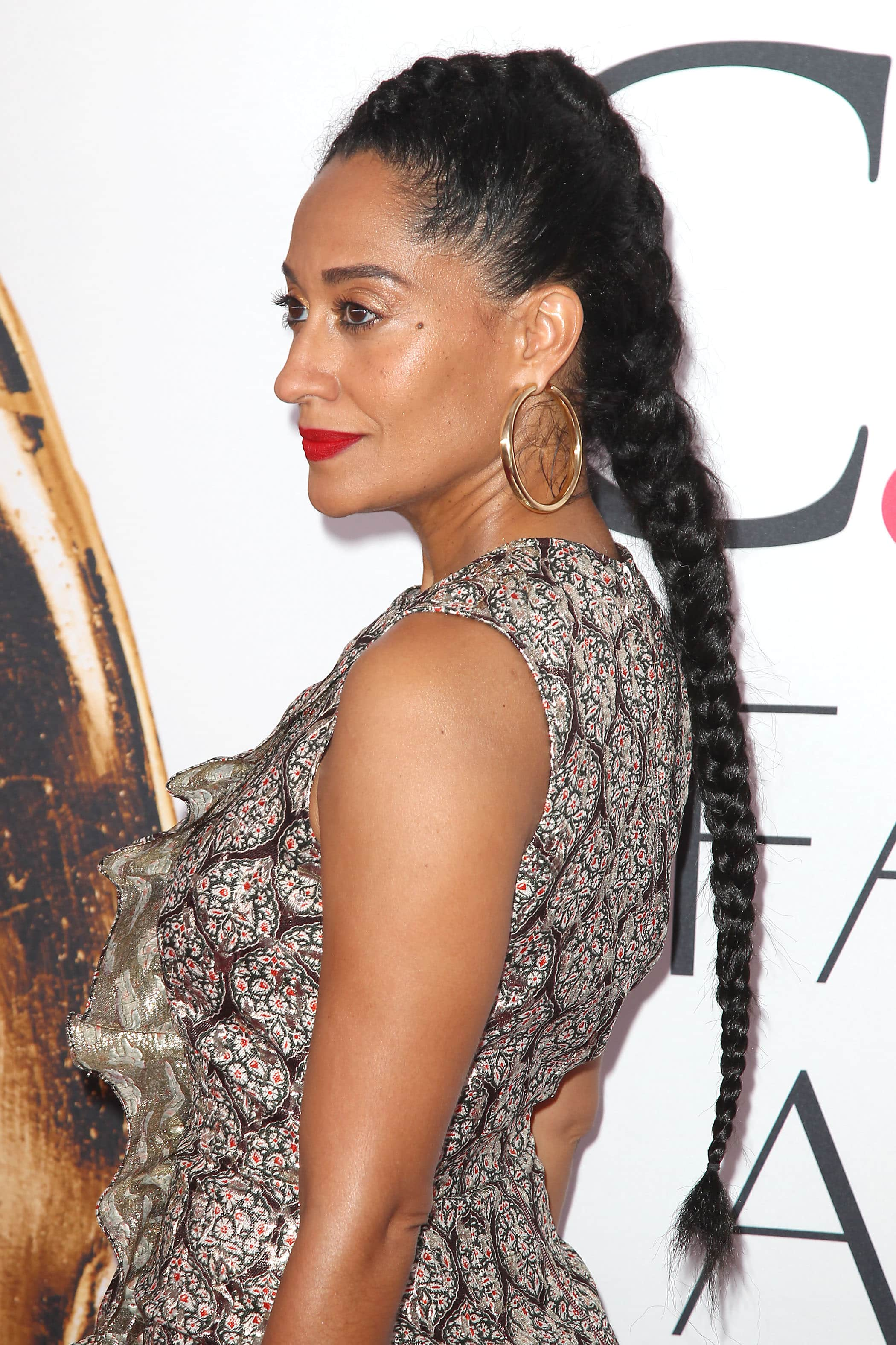 Tracee Ellis Ross long braid afro hair