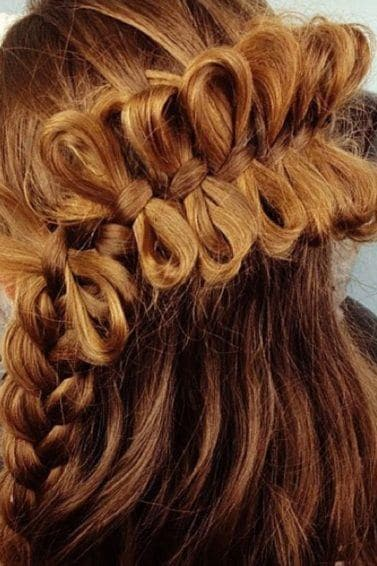 Stunning bow braid hairstyles and how to create them | All ...