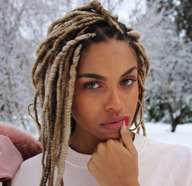 Like the look of dreads but don't want the commitment? Try faux locs like viva glam kay shows, are fast becoming one of the top black braided hairstyles
