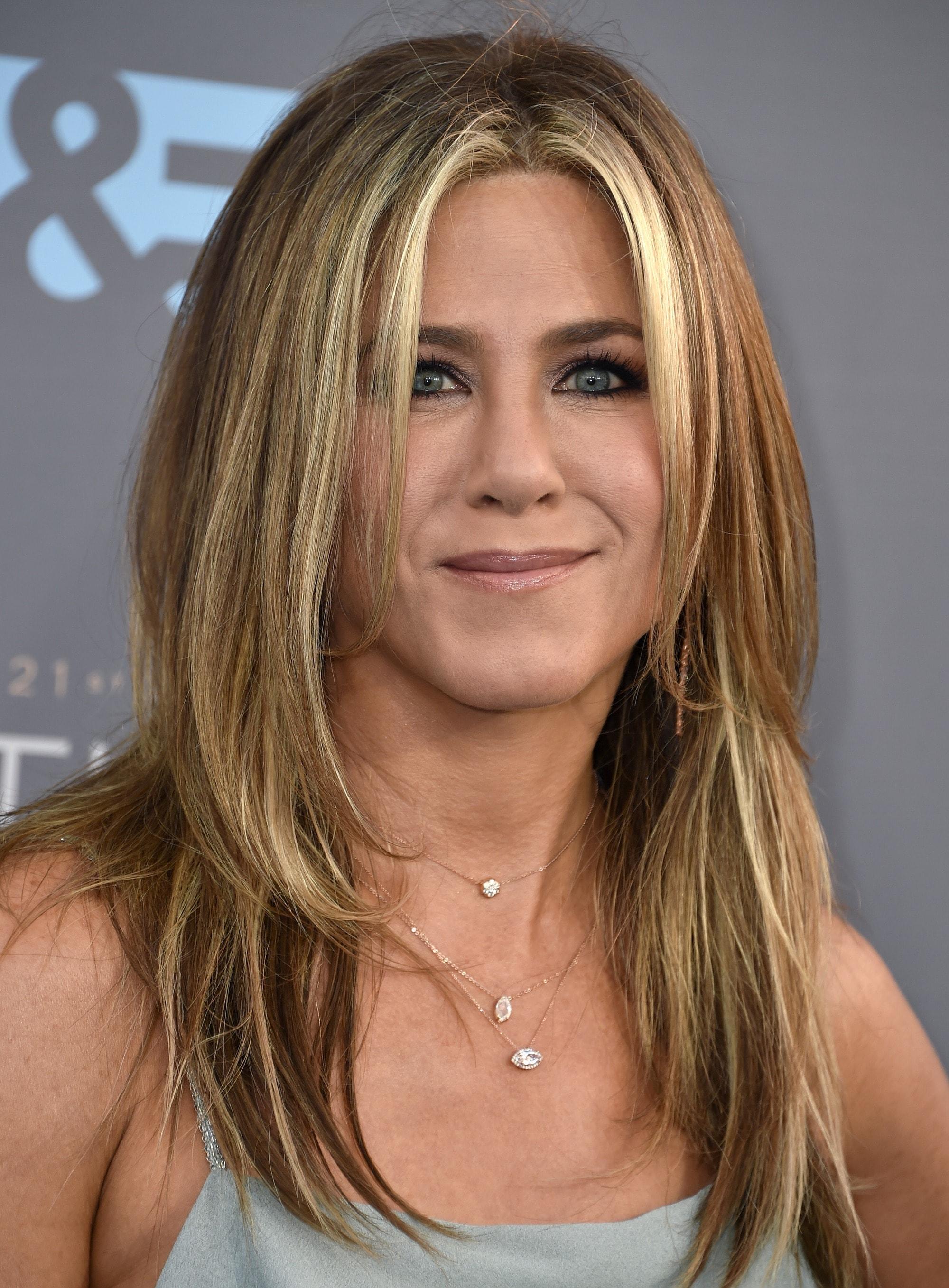 Choppy hair - Jennifer Aniston - Choppy layers