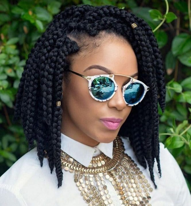 5 Super Cute Short Box Braid Hairstyles For 2018 And Beyond All