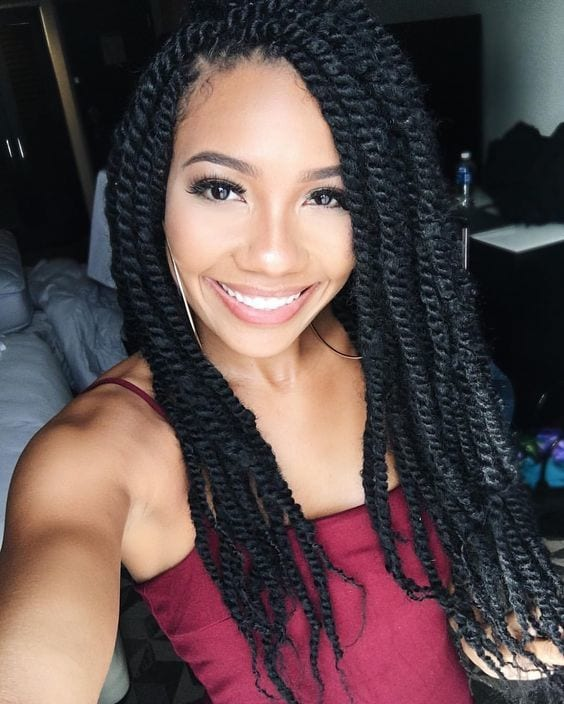7 Two Strand Twist Styles That Are Giving Us Natural Hair Envy