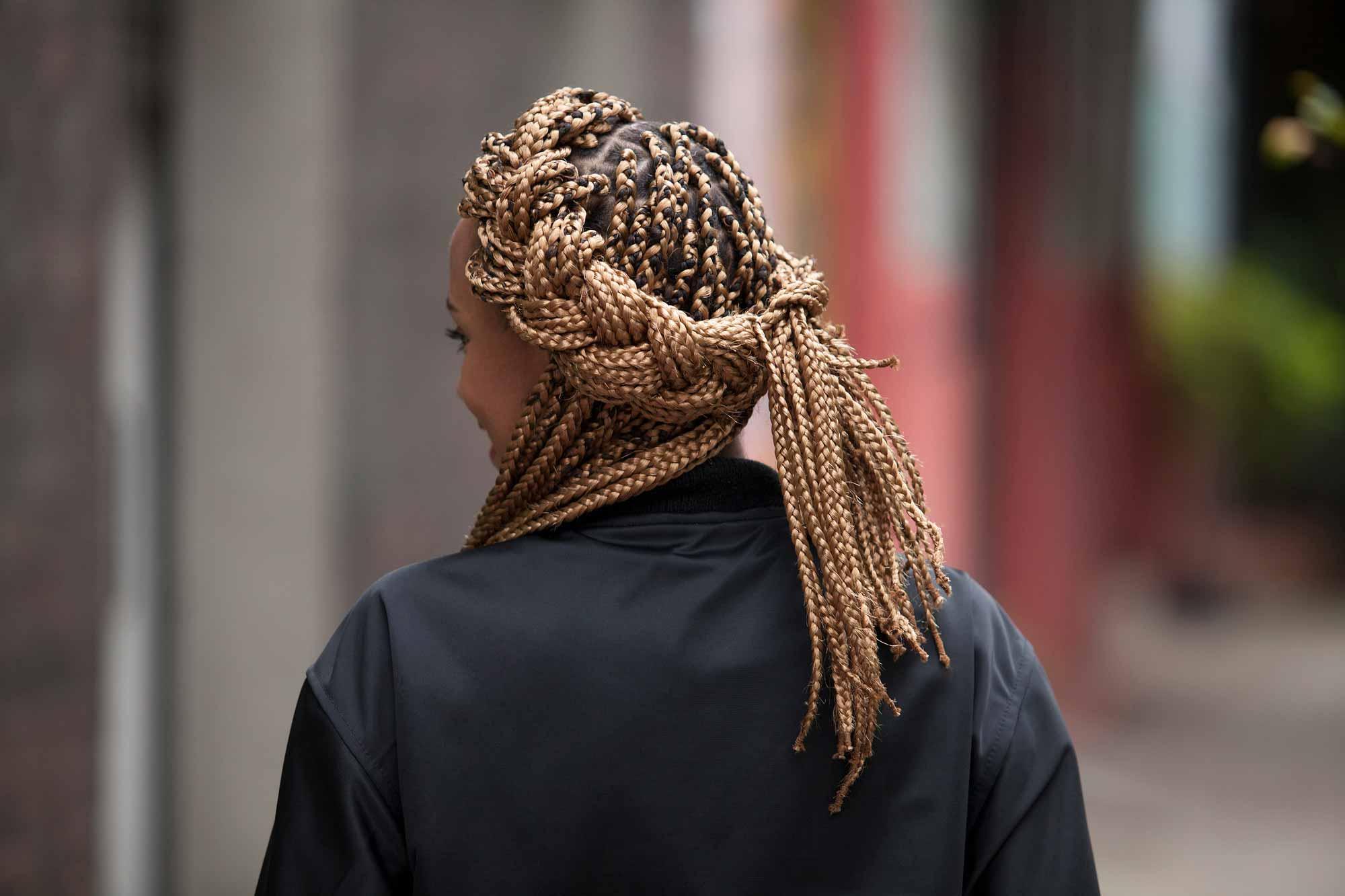 Crown braids: how to get crown box braids with our crown braid tutorial