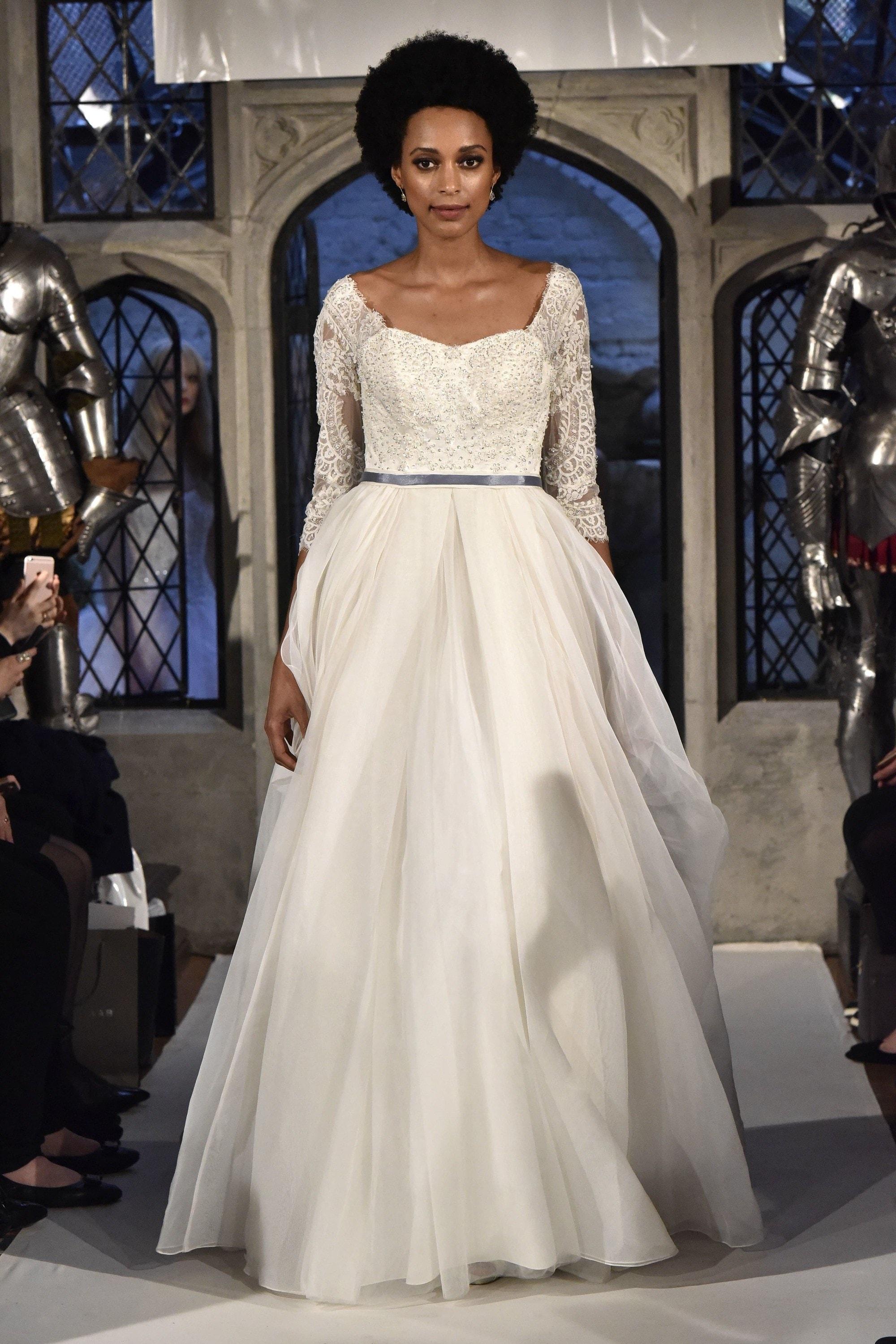 Bridal Fashion Week Spring 2018 Top 6 Wedding Hair Trends