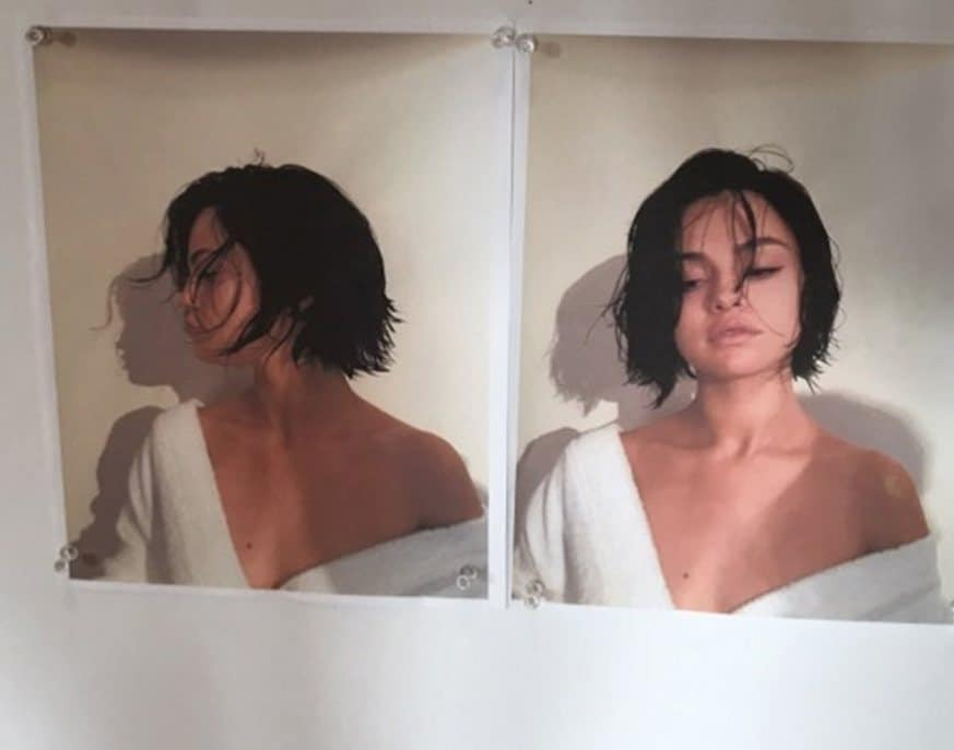selena gomez with short chin length hairstyle instagram