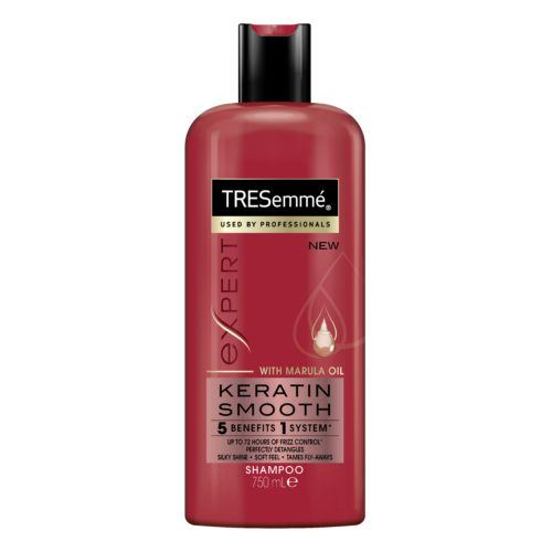 tresemme keratin smooth shampoo front view