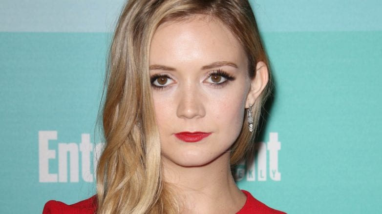 actress and daughter of carrie fisher billie lourd with long blonde hair