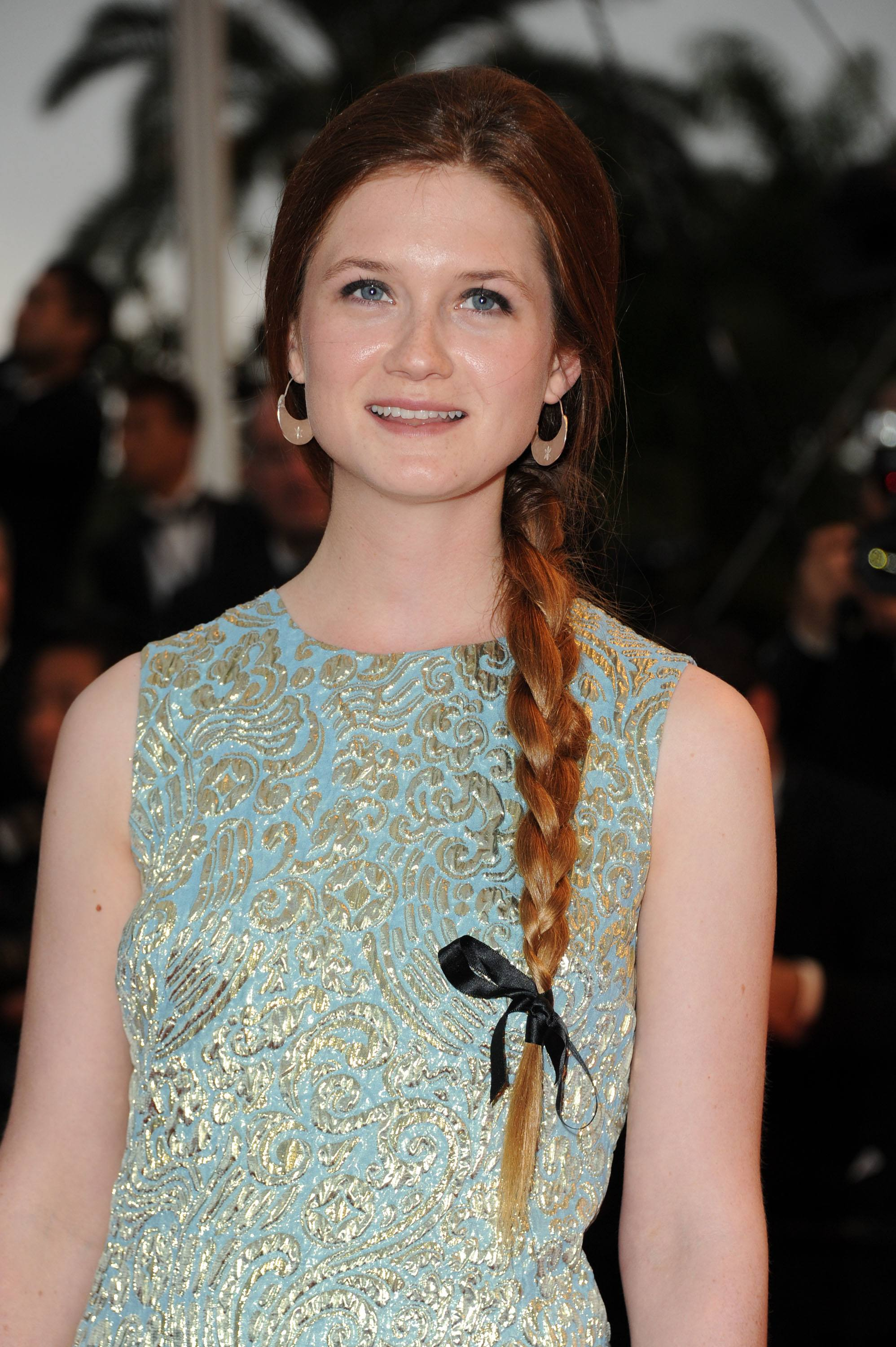 harry potter star bonnie wright