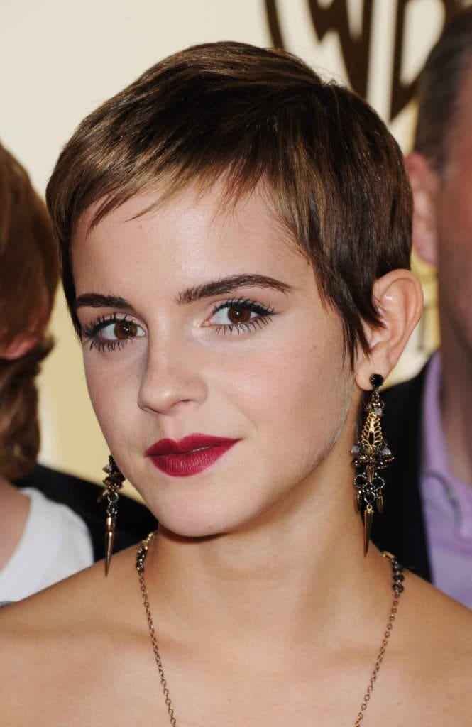 Pixie frizura Emma Watson