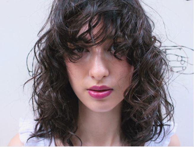 Perm hair - shaggy perm with bangs on medium brown hair - Instagram