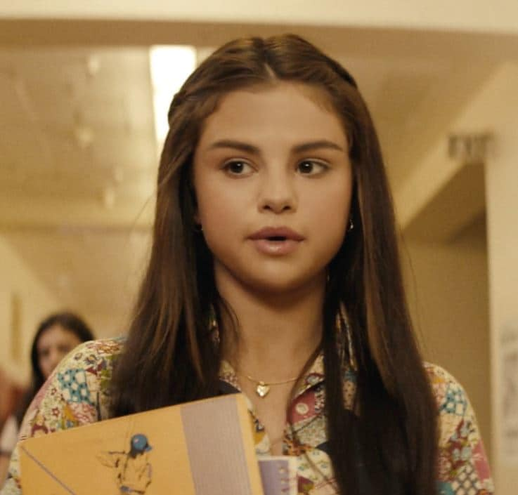 Selena Gomez - Bad Liars Video - Long brown hair with braids at the front pinned back away from face - Vevo