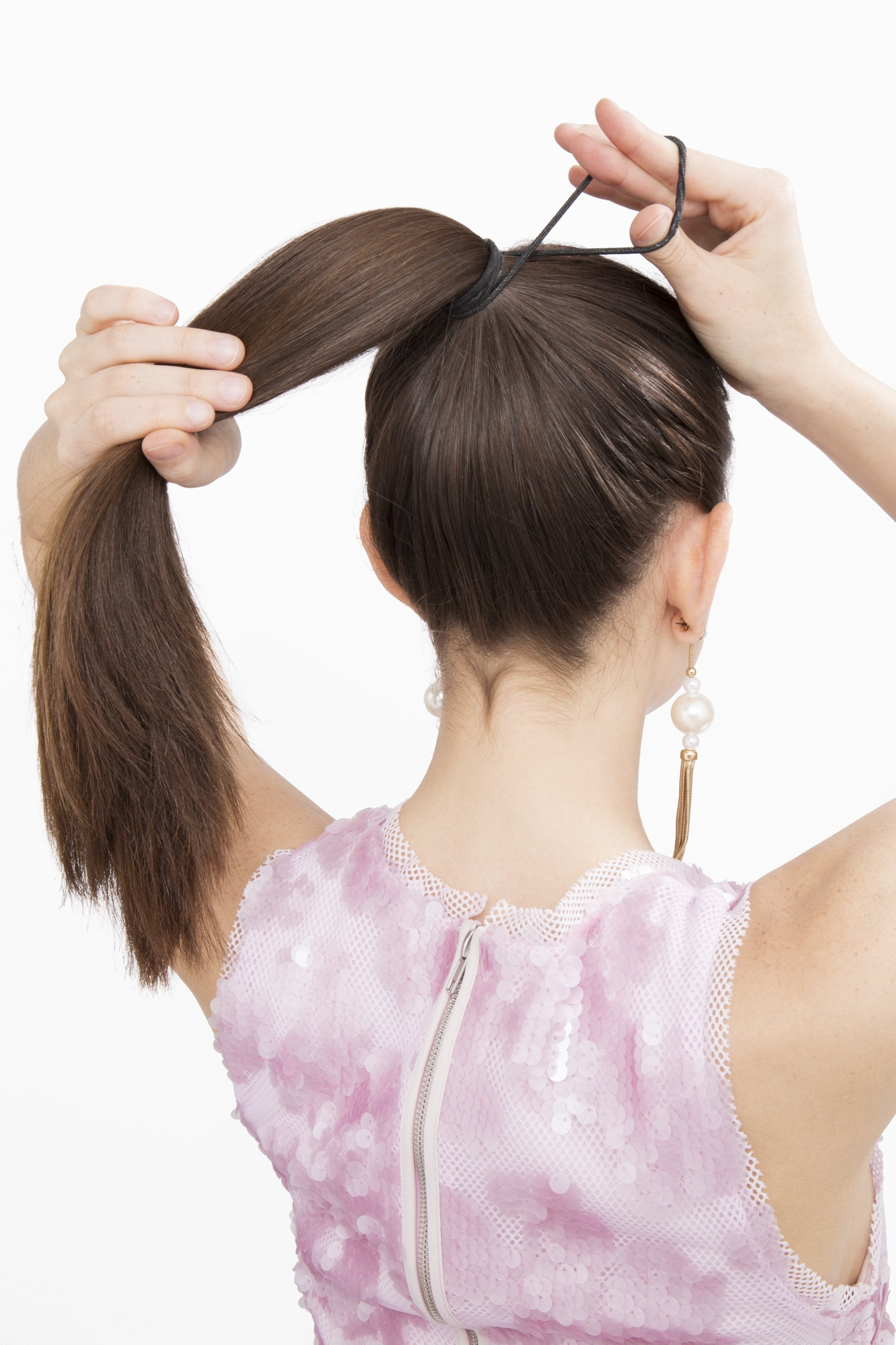 How To Use A Hair Donut To Make A Donut Bun