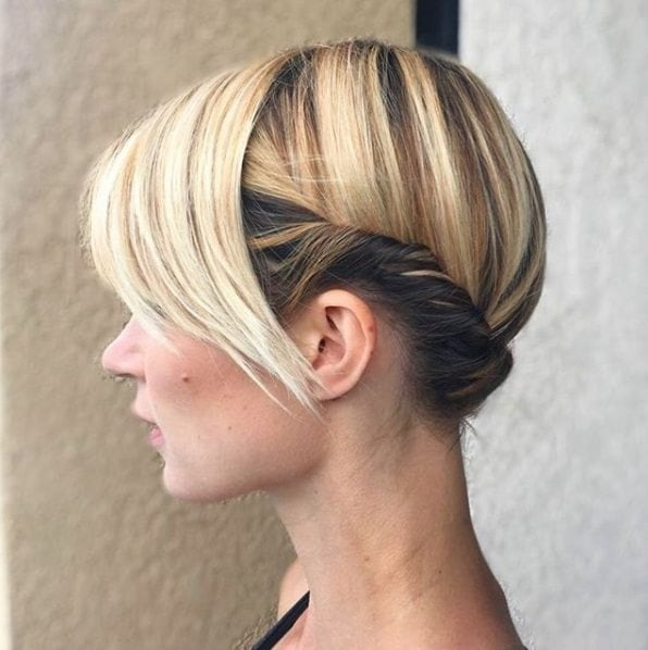 Updos For Short Hair 15 Pretty Looks Short Haired Ladies Will Love To Rock