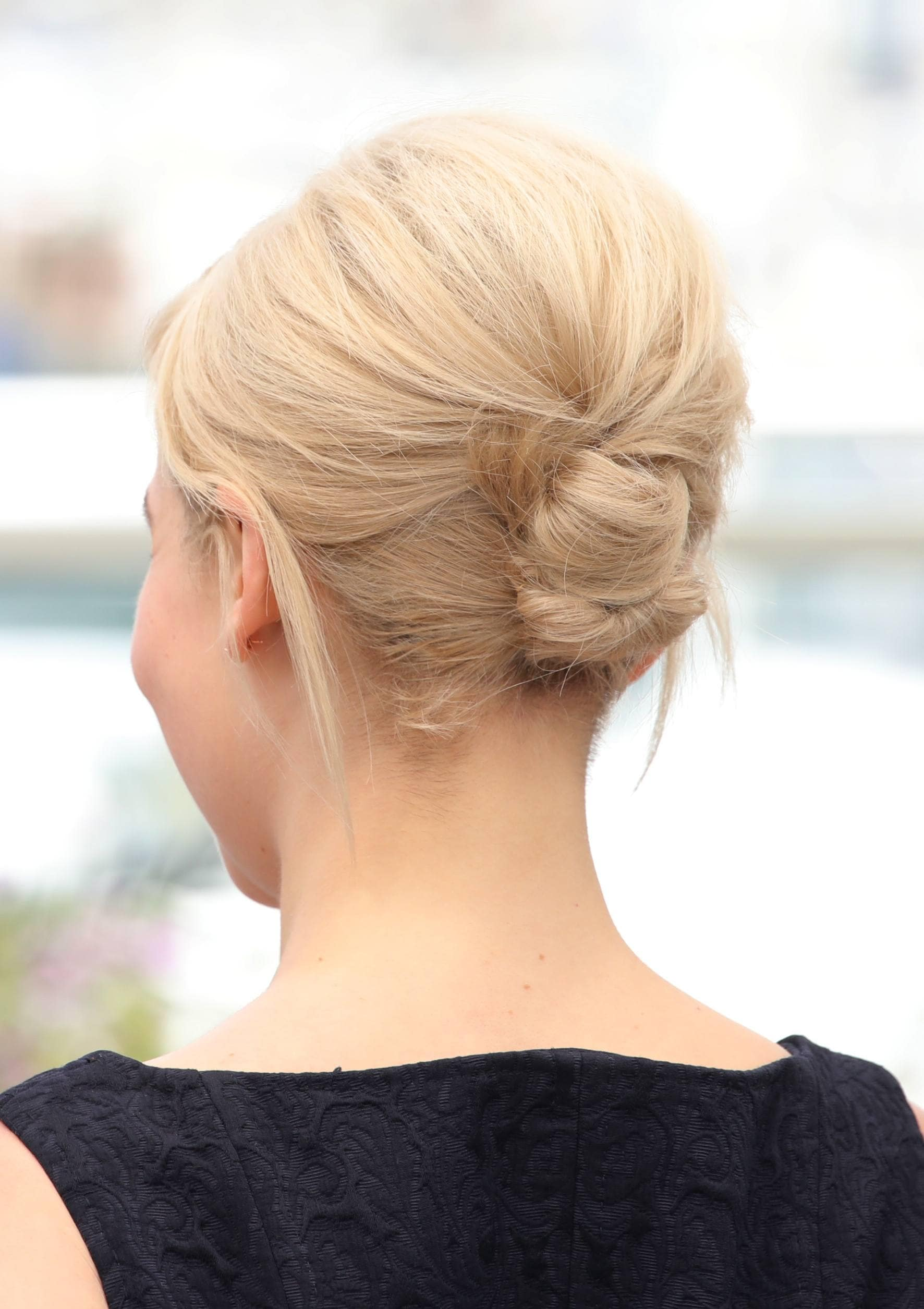 13 Fabulous Updos For Medium Hair
