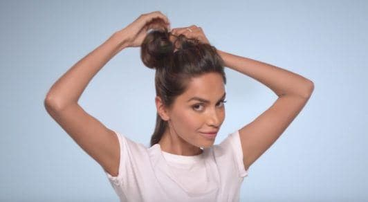 E! Beat hair boredom step by step: diipa khosla sectioning off hair