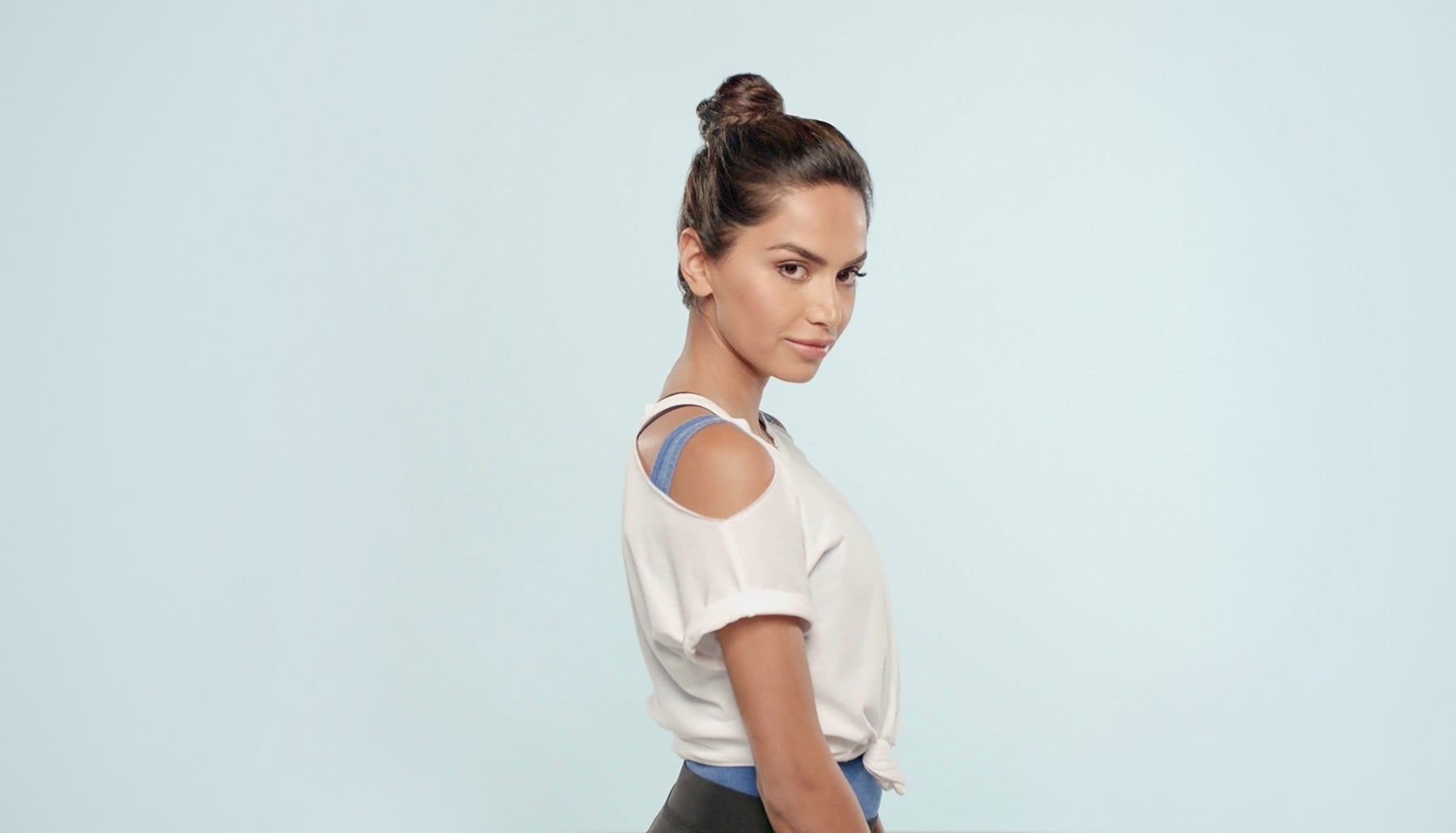 E! Beat hair boredom step by step: diipa khosla with braided bun updo