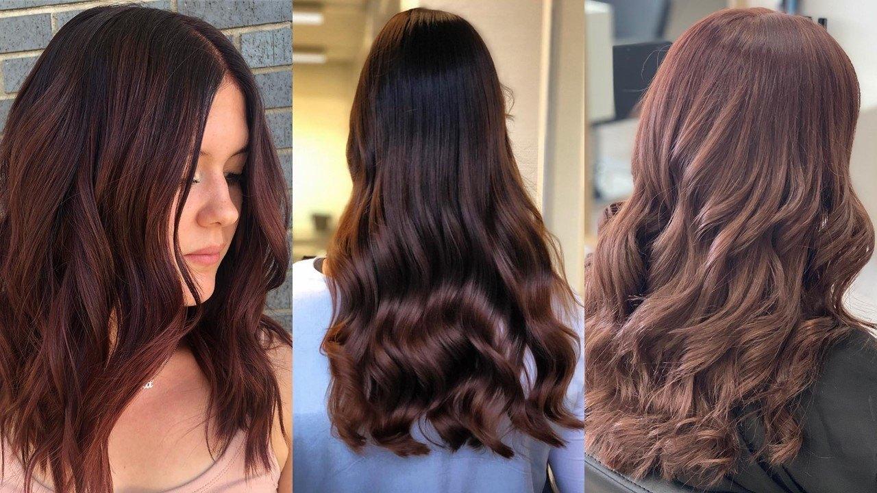 20 Best Mahogany Hair Colour Ideas For 2019