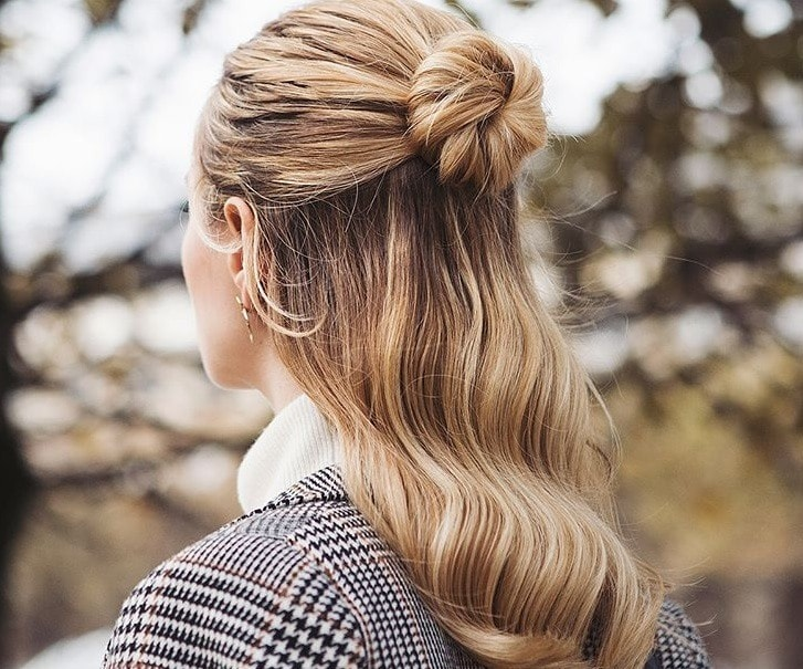 30 Best Half Up, Half Down Prom Hairstyles   All Things Hair