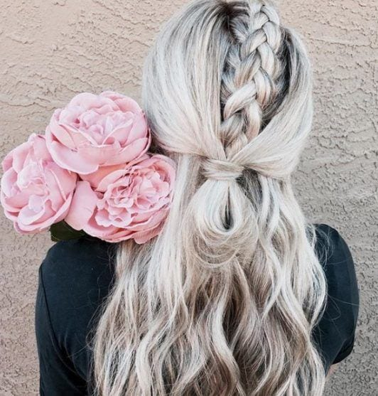 30 Best Half Up, Half Down Prom Hairstyles for 2021