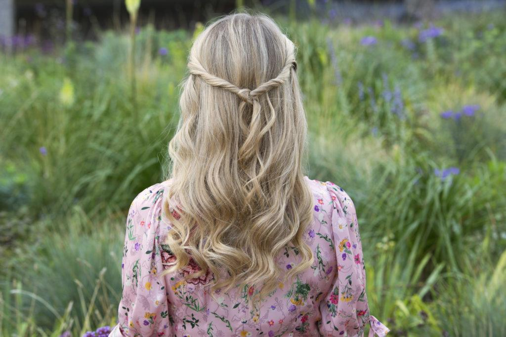 Half Up Hairstyles For Short Hair For Prom 94