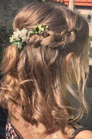 30 Best Half Up, Half Down Prom Hairstyles