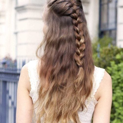 22 Seriously Easy Braids For Long Hair 2019 Update