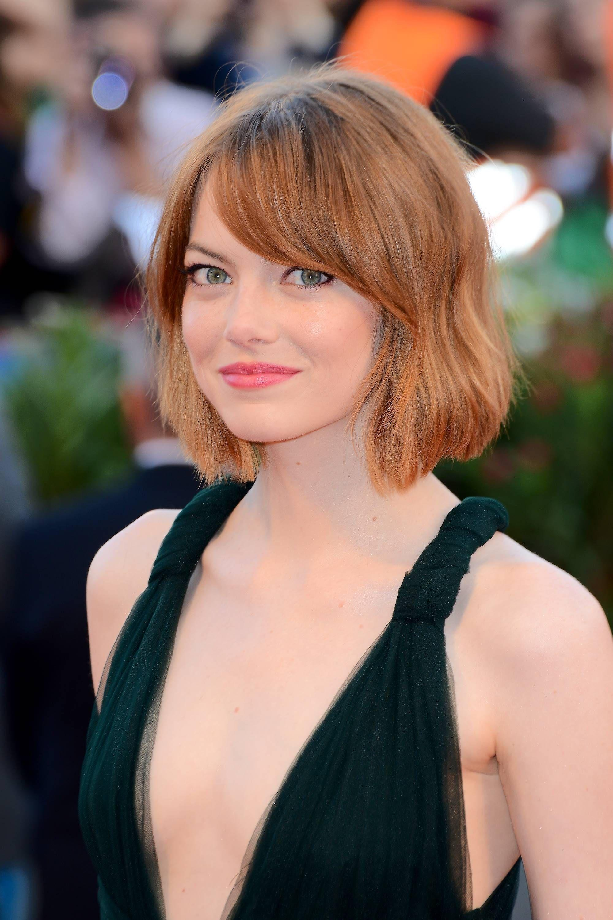 9 flattering ways to pull off bangs for round face shapes