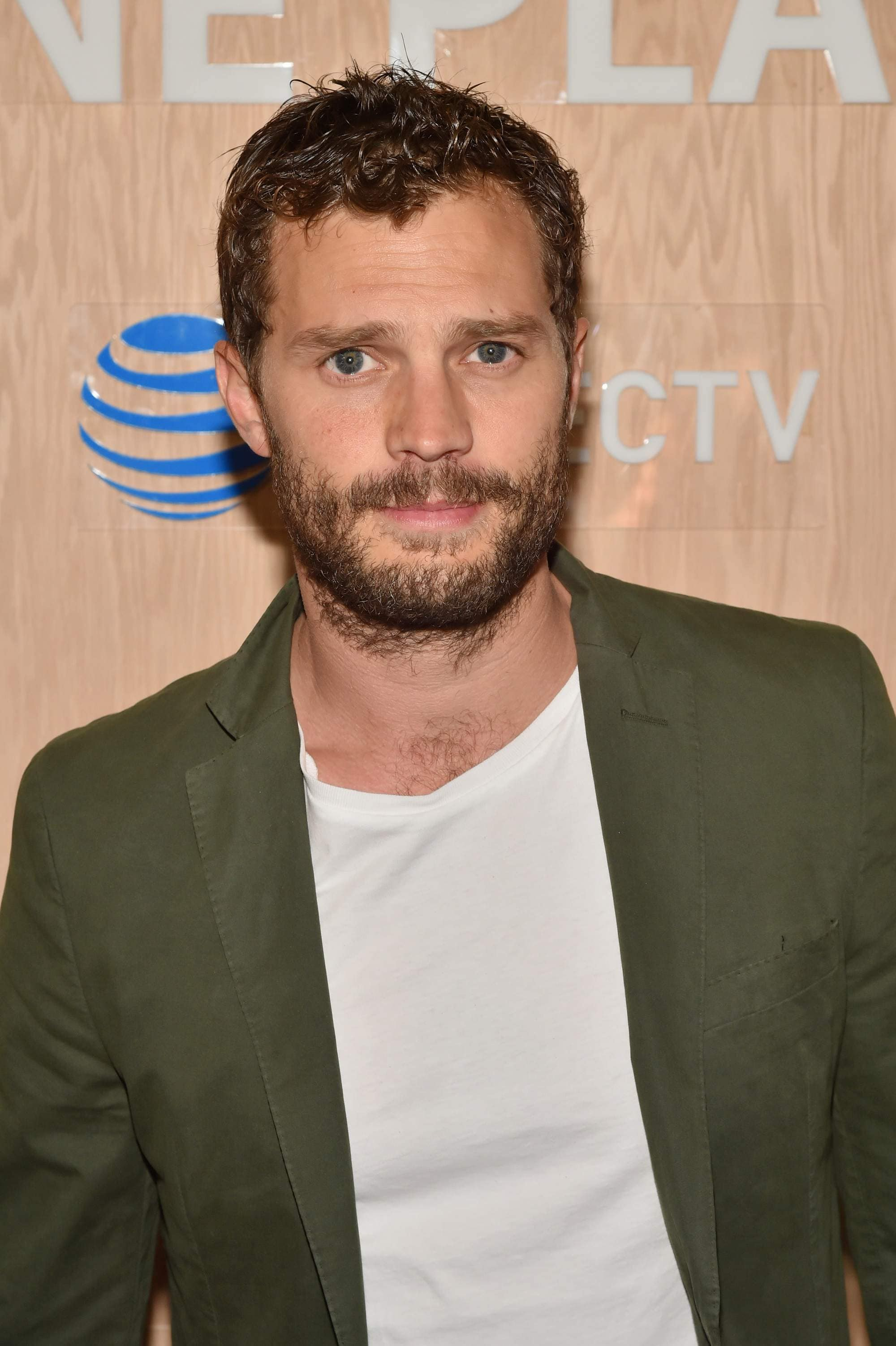 50 shades of grey actor jamie dornan with curly bedhead hair