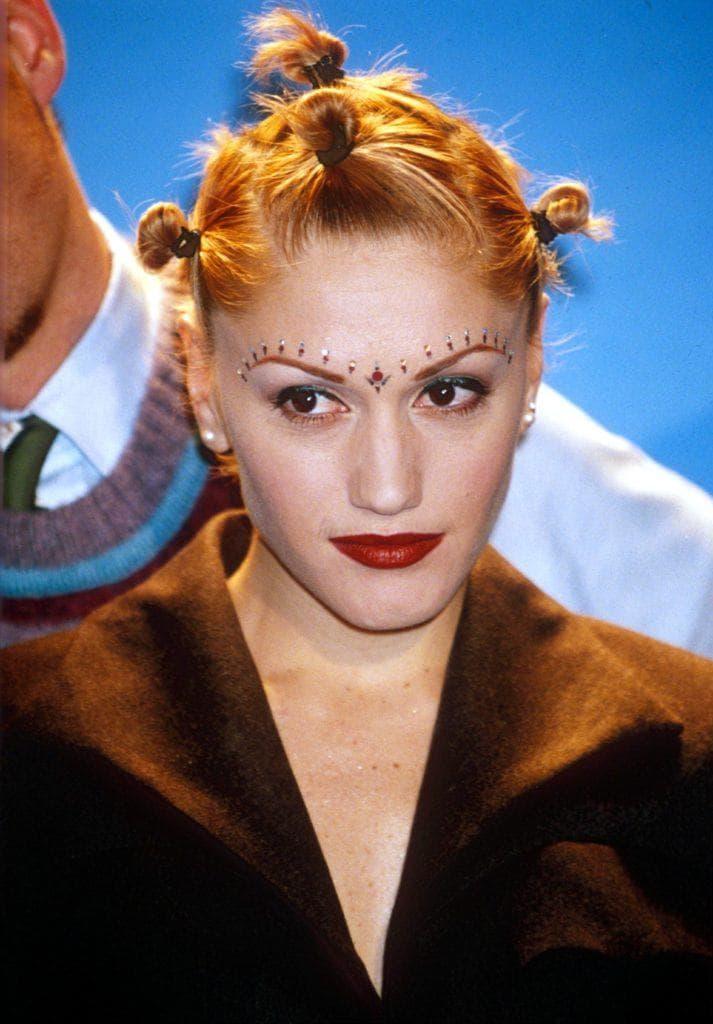 Gwen Stefani blonde bantu knots