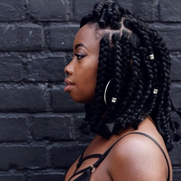 20 Trending Box Braids Bob Hairstyles For 2020 All Things Hair