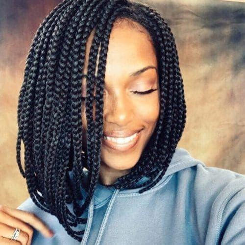 20 Trending Box Braids Bob Hairstyles For 2020 All Things Hair
