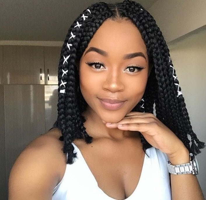 12 Box Braids Bob Hairstyles To Try Out This Season All Things Hair Uk