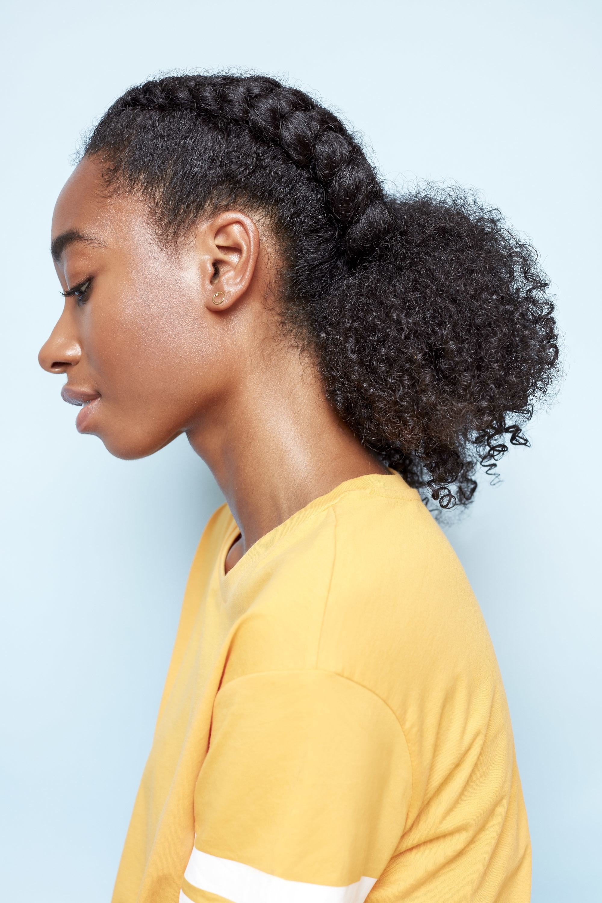 12 Low Manipulation Hairstyles For Natural Hair