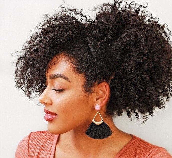 12 Gorgeous Christmas Party Hairstyles For Natural Hair