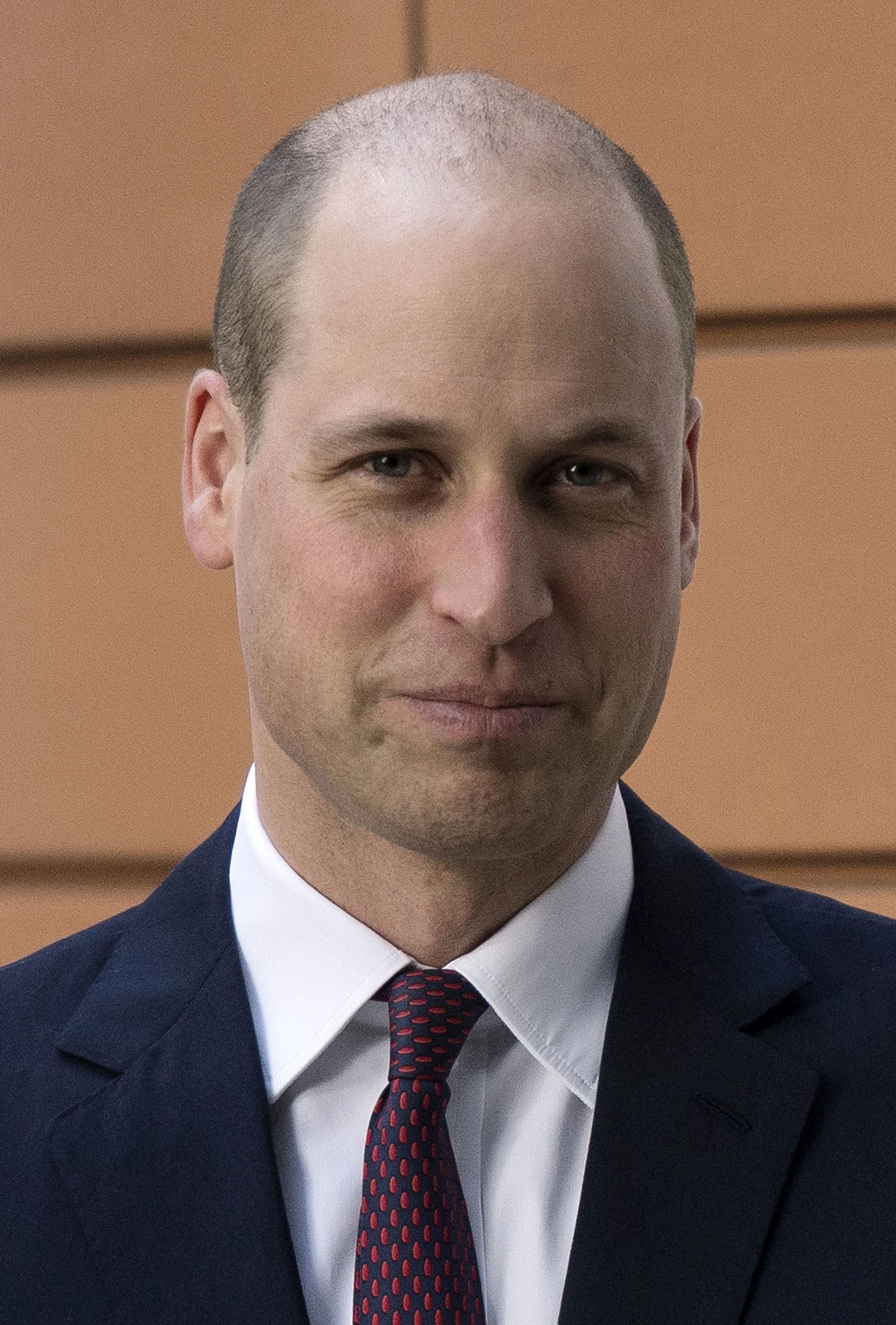 prince william with shaved head buzz cut