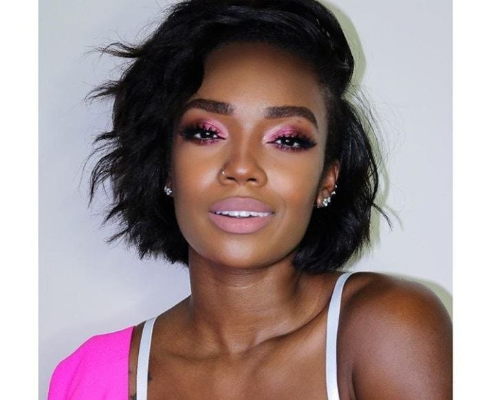 6 Short Relaxed Hair Looks From Instagram That'll Make You