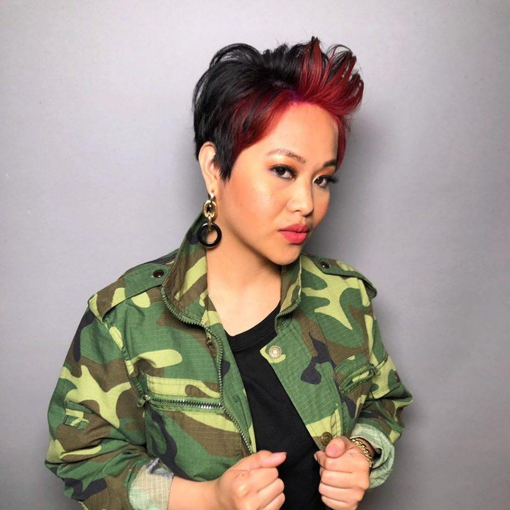 10 Popular Red And Black Hair Colour Combinations