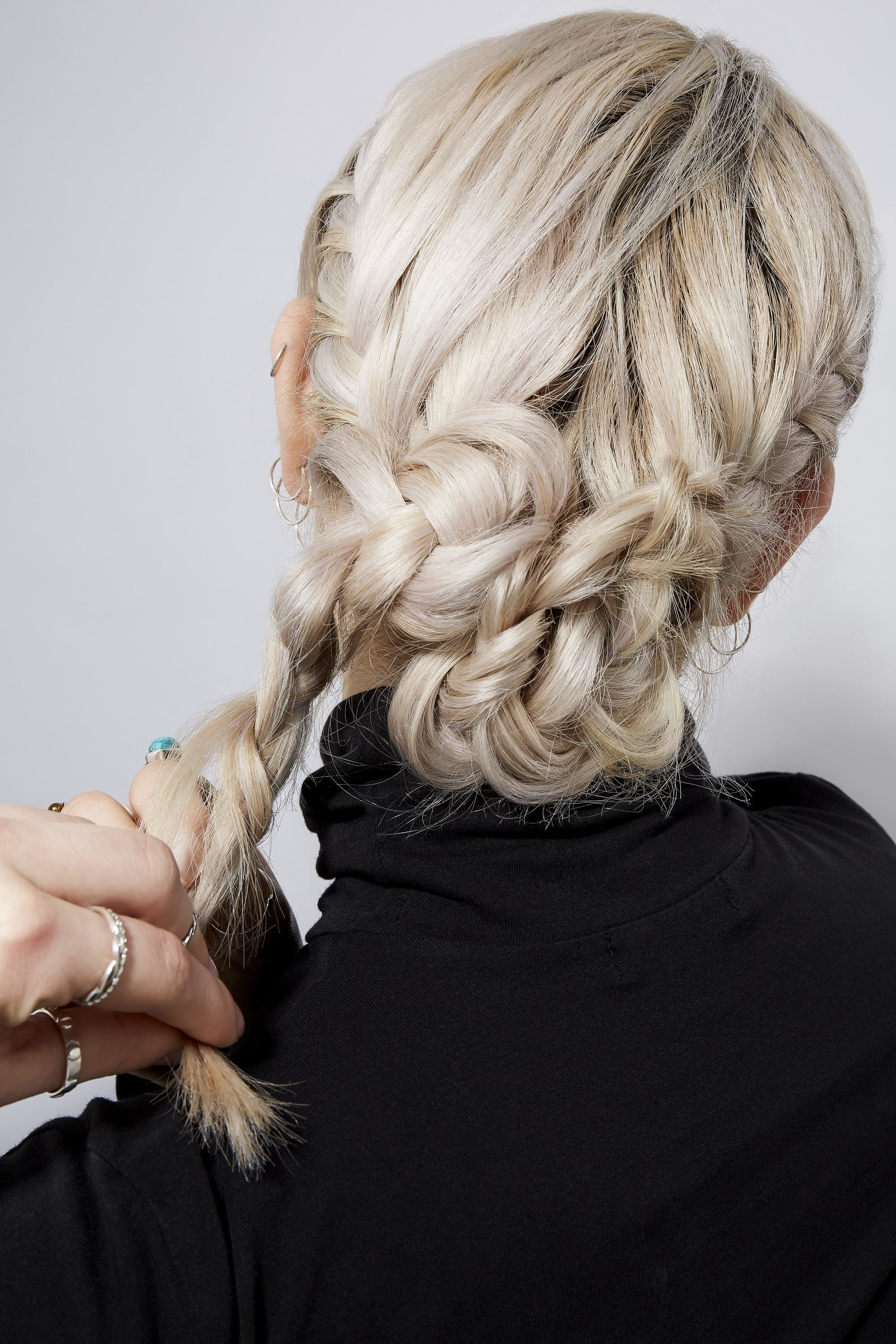 French Braid Bun Tutorial How To Create The Look In 10 Easy Steps