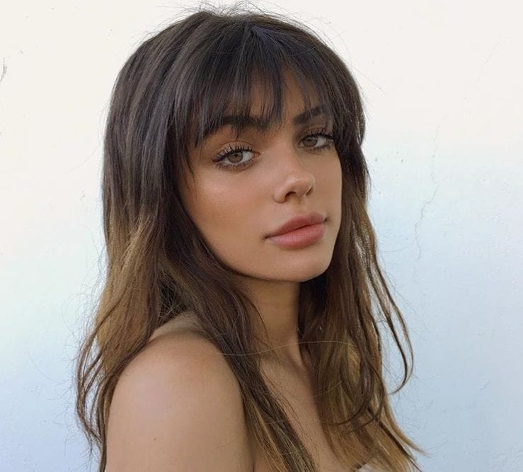 8 Wispy Bangs Styles That Will Make You Want To Get A Fringe