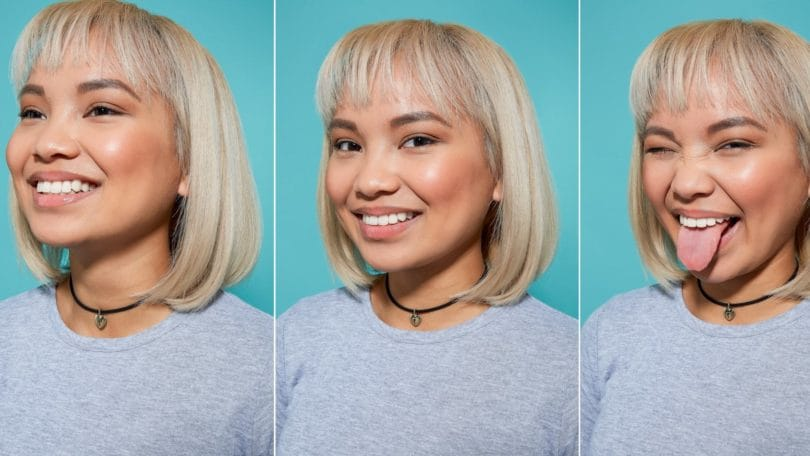 How to blow dry short hair tutorial with blonde girl