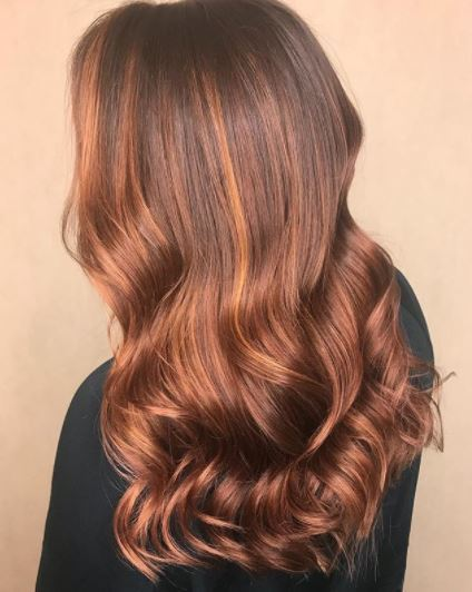 14 Copper Highlights Hair Colours To Inspire 2019 All Things Hair Uk