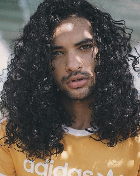 How To Style Men S Curly Hair Styling Ideas For The Modern Man