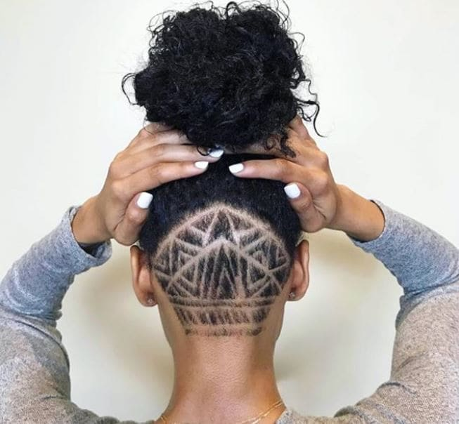 Fierce and fabulous shaved hairstyles for black women