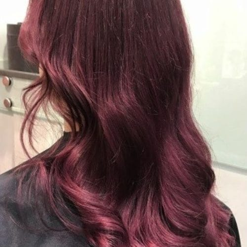Red And Purple Hair Colour Ideas